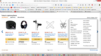 Get Amazon Lightning Deals