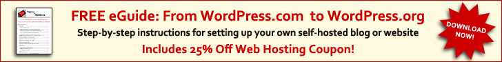 Download the free eGuide: From WordPress.com to WordPress.org